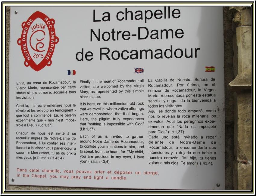 Le Sanctuaire de Rocamadour