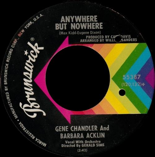 """Barbara Acklin : Album """" Love Makes A Woman """" Brunswick Records BL 754137 [US]"""