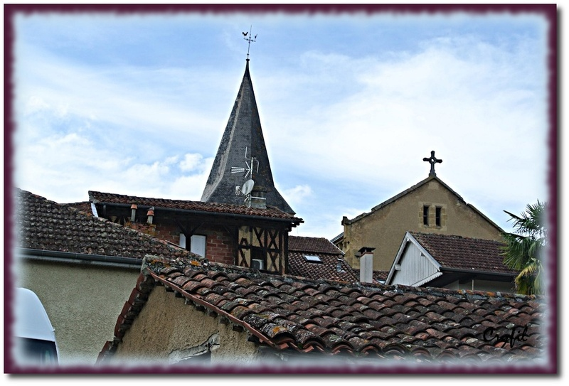 Masseube, jolie commune du Gers