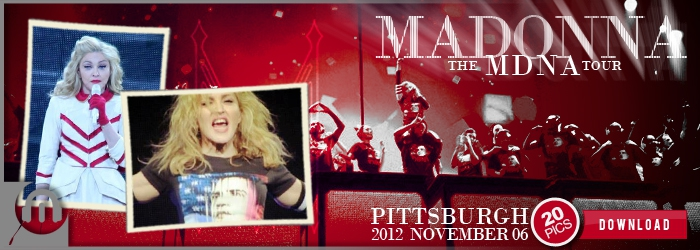 The MDNA Tour - Pittsburgh - Pictures