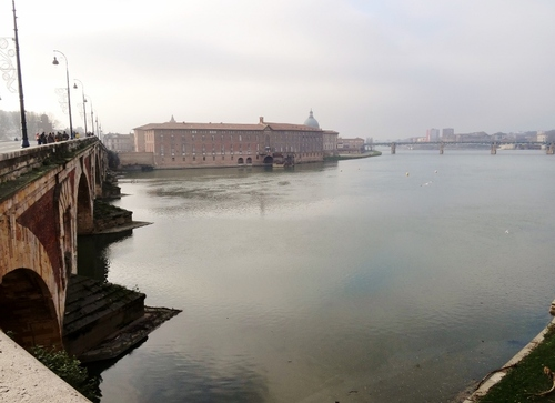 Toulouse: au long de la Garonne (photos)