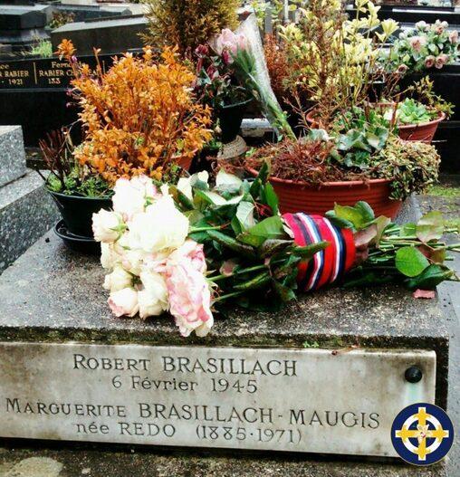 HOMMAGE À ROBERT BRASILLACH LE 4 FÉVRIER 2017.