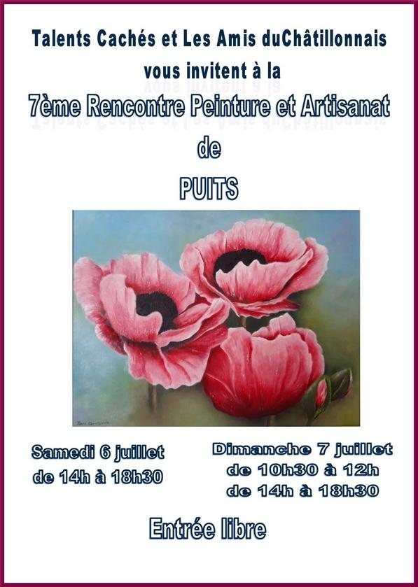 """""""Talents cachés"""", une belle exposition à admirer ce week-end à Puits"""