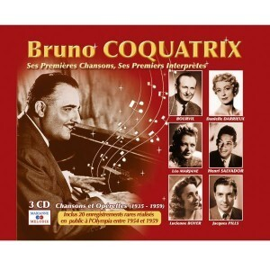 Bruno Coquatrix CD