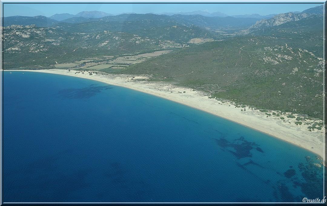 Une plage du sud de la Corse