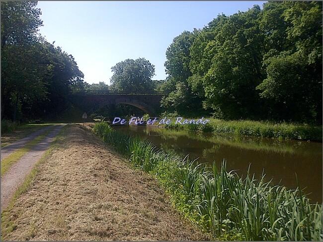 Le canal de Nantes à Brest : étape 9