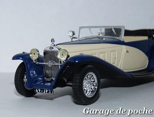 DELAGE D8 SS Cabriolet Fernandez & Darrin 1932
