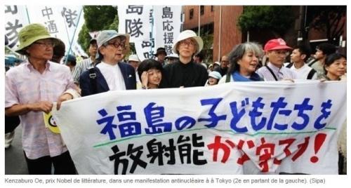 Des écrivains japonais contre le nucléaire