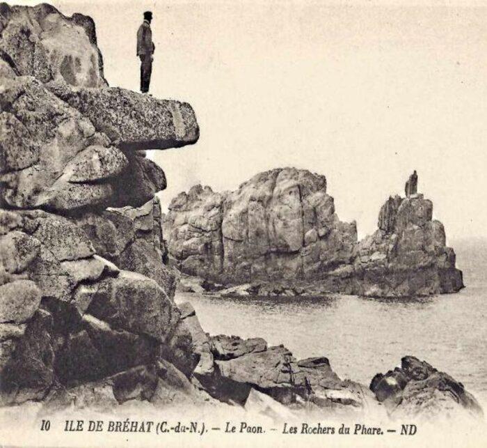 Les pétrifiés de Bréhat  conte Breton