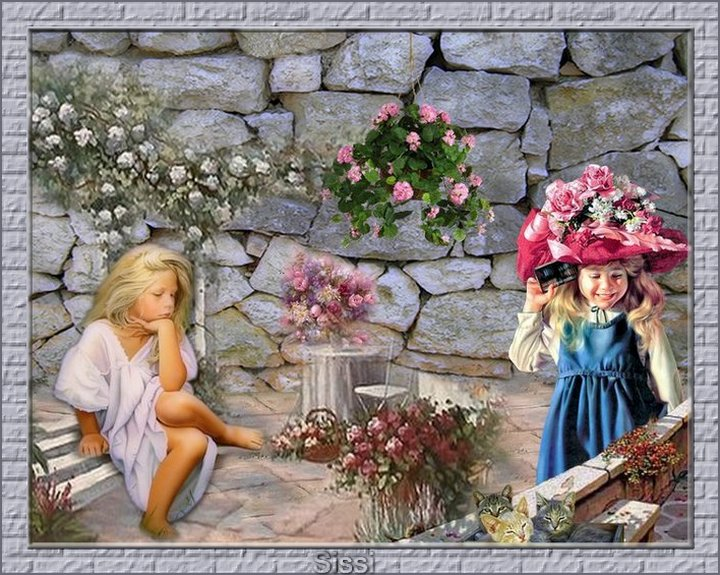 *Les Soeurettes au Jardin*