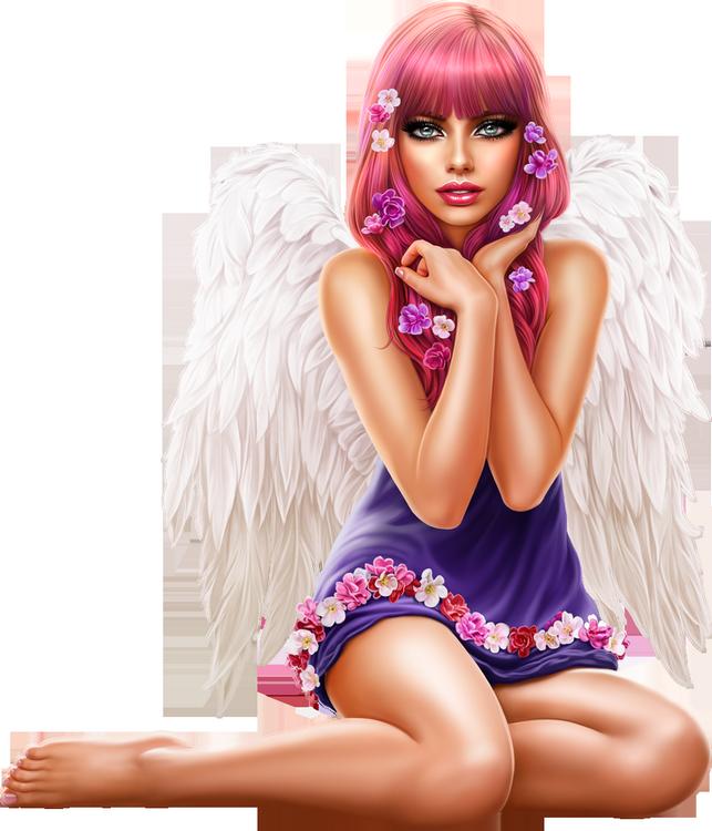 Tubes Femmes Anges
