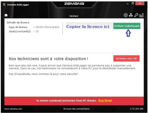 Zemana AntiLogger 2.7 - Licence 380 jours gratuits