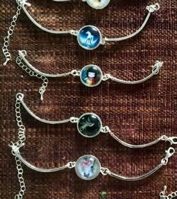 Bracelets cabochons