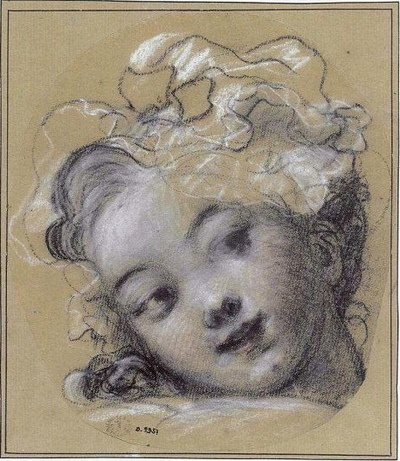 Jean-Honoré Fragonard a girl