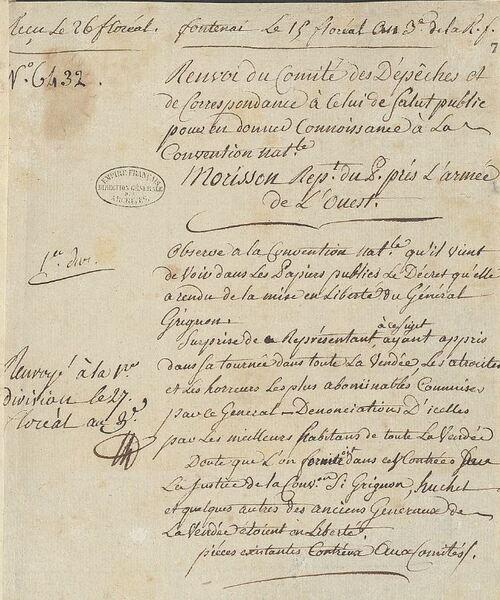 Justifications du général Grignon (3)....