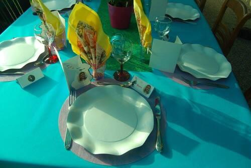 Mes décos de tables d anniversaires pour ma fille