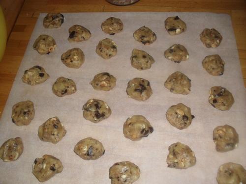 Une grosse fournée de cookies pour les gourmands