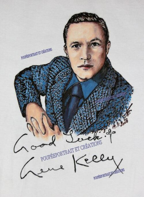 "Affiche recomposée ""Invitation à la Dance"" de Gene Kelly"