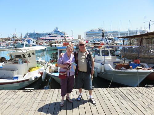 Nous étions à Rhodes au mois de Mai