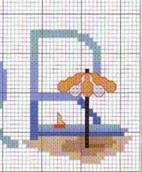 Alphabet de la mer : le R.