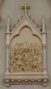 X-Jésus dépouillé de ses vêtements