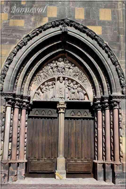Portail Saint Nicolas Collégiale Saint Martin Colmar Haut-Rhion