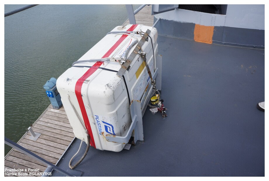 EGLANTINE navire école de la Marine à Pornic