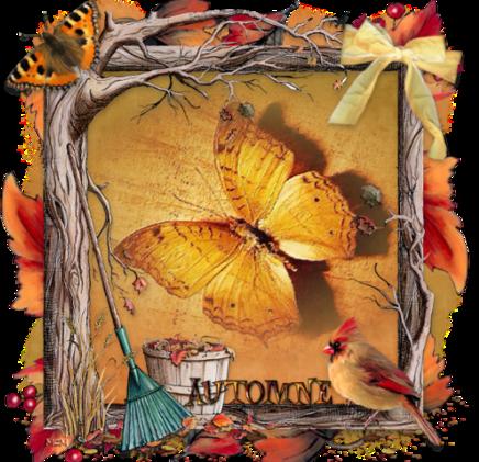 Grille gratuite - 08 Papillon d'Automne