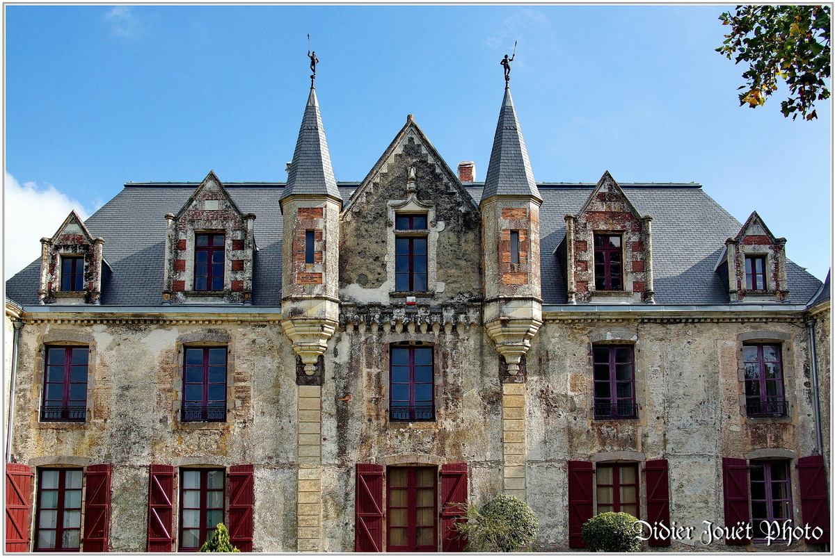 (85) Vendée - Nesmy (1) - Château de Nesmy