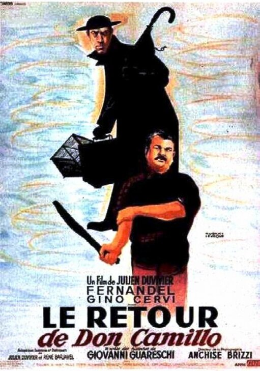 LE RETOUR DE DON CAMILLO -  FERNANDEL BOX OFFICE 1953