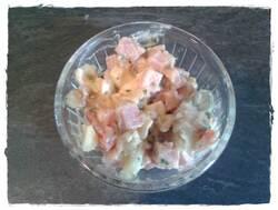 Entrée : salade piémontaise