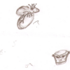 dessiner une bague grenouille