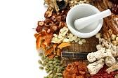 medecine naturelle : traitement des aliments chinois, médecine traditionnelle chinoise à base de plantes Banque d'images