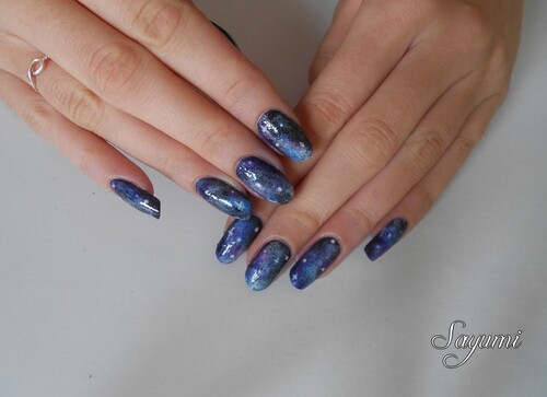 Nail Art Galaxy