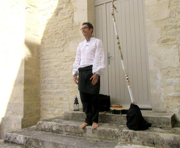 Une soirée et un après-midi contes a eu lieu dans la cour du Musée du Pays Châtillonnais