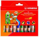 Des crayons gras effaçables à sec!!