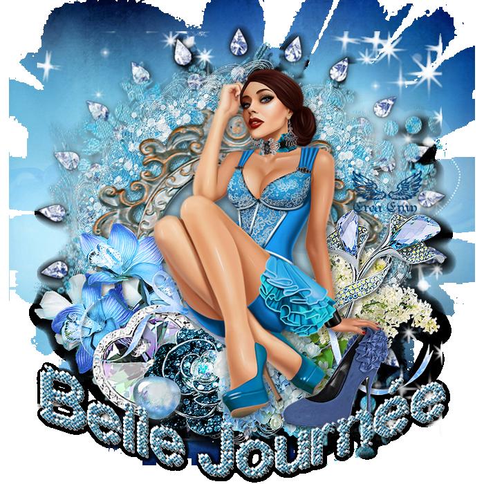 Jolie bleue