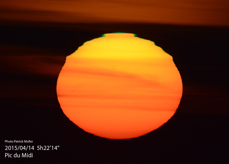 Lever de Soleil du 14 Avril 2015