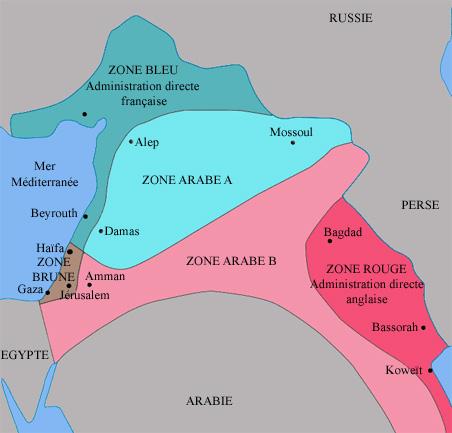 Image illustrative de l'article Accords Sykes-Picot
