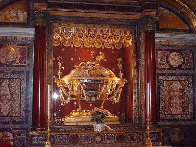 Les Saintes reliques : Le Saint berceau