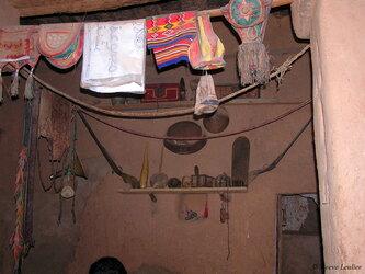 Chinguetti, Mauritanie : intérieur de la ville
