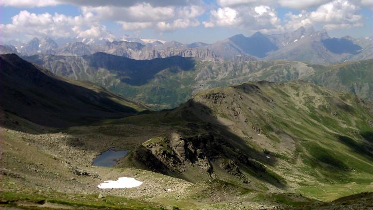 Lac de Roche Noire et Aiguilles d'Arves