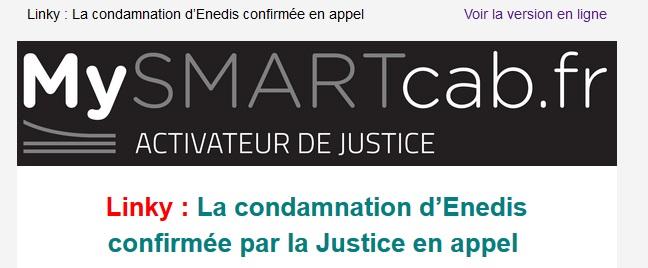 La Cour d'Appel de Grenoble reconnait qu'Enedis viole le principe de précaution
