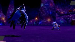 Combat dans les mines de Galar n°2 [Pokémon Epee Bouclier Screenshot]