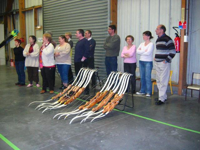 Samedi 19 avril 2008, initiation au tir à l'arc à Mesnil Esnard