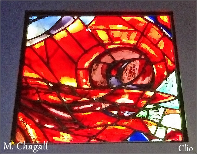 Marc Chagall et les vitraux