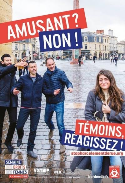 affiches,harcèlement de rue