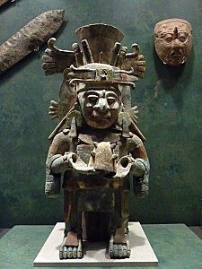 Mexico Musée Divinité maya