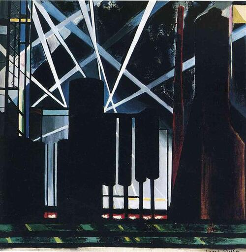 Joseph Stella, peintre futuriste
