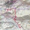 Carte IGN 1547 OT itinéraire pic Peyreget
